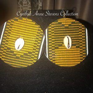 Jewelry - African print earrings!!